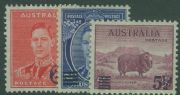AUS SG200-2 Surcharges set of 3